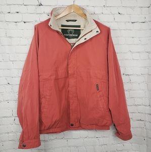 Weatherproof Sueded Red Bomber Jacket Rain Mens
